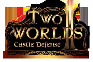 Two worlds 2 castle defense logo